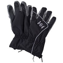 Helly Hansen Black Tyro Ski Gloves 990 BLACK