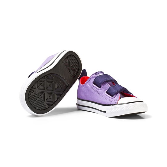 Converse Purple Chuck Taylor All Star 2V Trainers Lilac