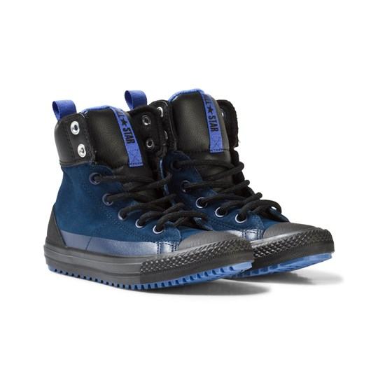 Converse Blue Chuck Taylor All Star Asphalt Boots Blue/Black