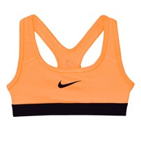 NIKE Girls´ Peach Pro Sports Bra PEACH CREAM/PURPLE DYNASTY
