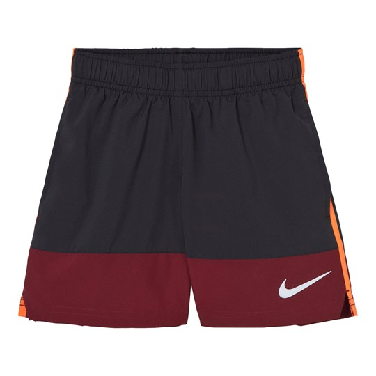 NIKE Boys´ Black and Red Running Short BLACK/TEAM RED/REFLECTIVE SILV