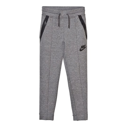 NIKE Girls´ Nike Sportswear Tech Fleece Pant CARBON HEATHER/DARK GREY/BLACK