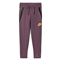 NIKE Girls´ Nike Sportswear Tech Fleece Pant PURPLE SHADE/HTR/PEACH CREAM