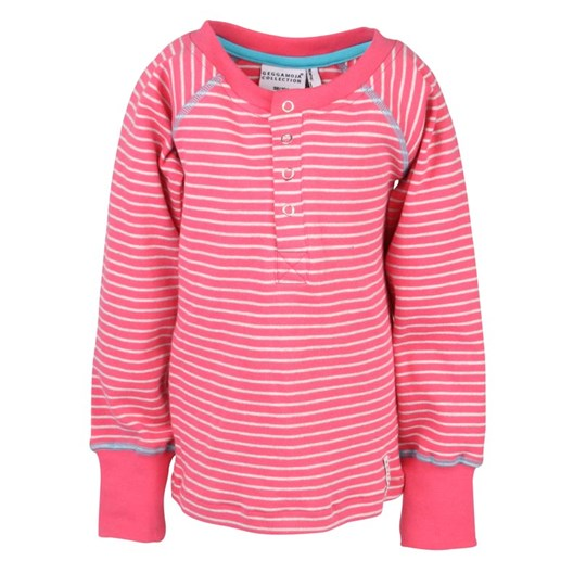 Geggamoja Sweater Cerise/Grey Pink