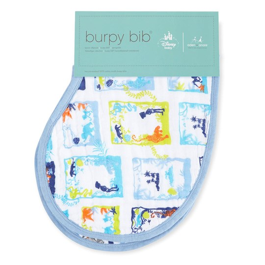 Aden + Anais 2-Pack Jungle Book Classic Burpy Bibs Jungle Book