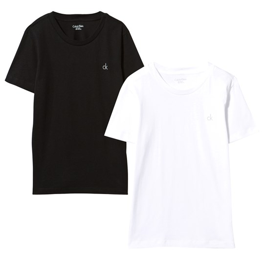 Calvin Klein Black and White Tee 2-Pack 908