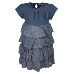 Dress Ruffles Blue