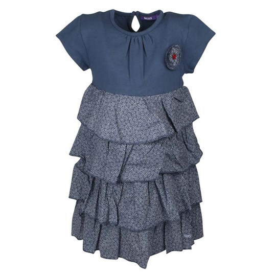 Mexx Dress Ruffles Blue Blue