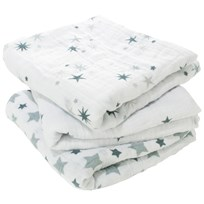 Aden + Anais Classic Musy Squares 3 Pack Twinkle Twinkle