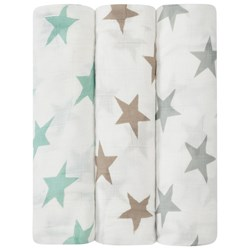 Aden + Anais 3-Pack Milky Way Silky Soft Swaddles
