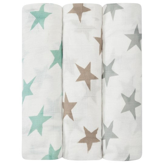 Aden + Anais 3-Pack Milky Way Silky Soft Swaddles Milky Way