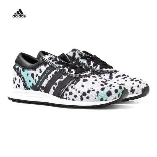 adidas Originals Dalmation Print Los Angeles Trainers Black