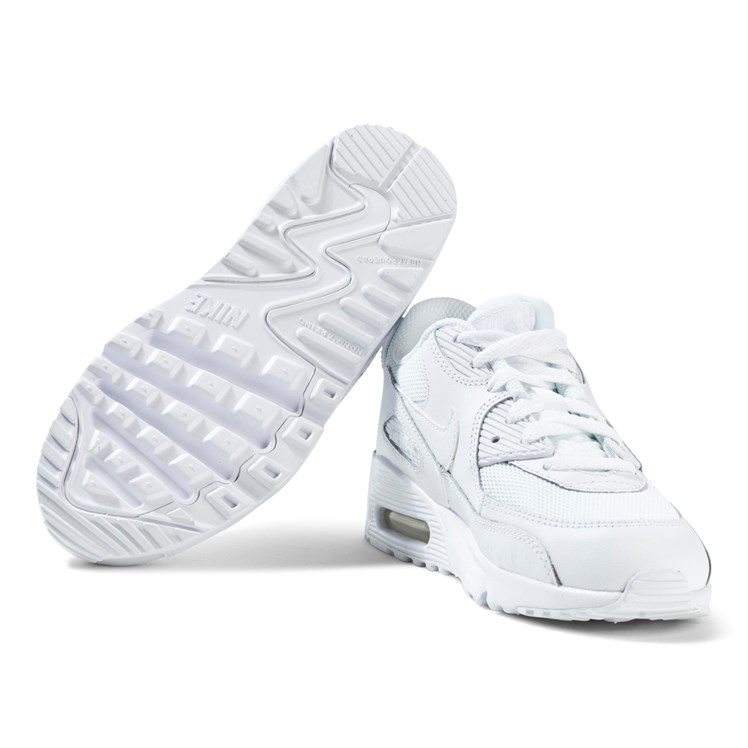 All White Air Max 90 Mesh Trainers NIKE Babyshop