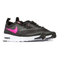 NIKE Black and Pink Air Max Thea Trainers BLACK/HYPER PINK-WHITE
