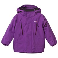Isbjörn Of Sweden Purple Helicopter Winter Ski Jacket Royal