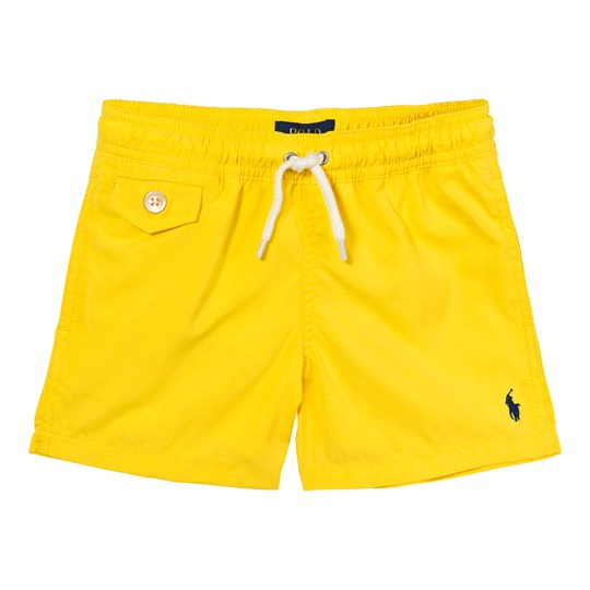 Ralph Lauren Twill Swim Trunks Active Yellow XW1RT