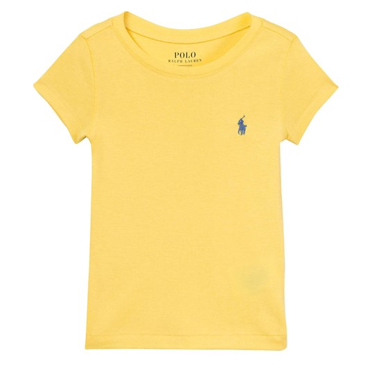 Ralph Lauren Yellow Classic Tee with PP XW1RY