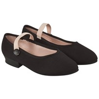 Bloch Accent Canvas Character Shoes Black