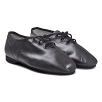 Bloch Essential Leather Lace Up Jazz Shoe Black