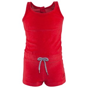 Image of Vilebrequin Vilebrequin Poppy Red Towelling Playsuit 2 years (2996518717)