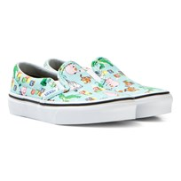 Vans Blue Andy´s Toys Classic Slip Ons (Toy Story) Andy's Toys/Blue Tint