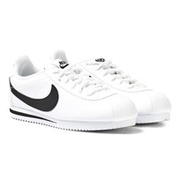 NIKE White Cortez Trainers White/Black