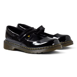 Dr. Martens Maccy Black Patent Mary Janes