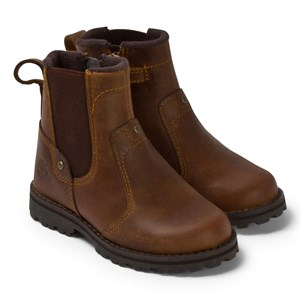 Image of Timberland Brown Chelsea Mid Leather Boots 40 (UK 7) (3056114847)