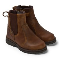 Timberland Brown Chelsea Mid Leather Boots BROWN SMOOTH