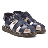 Dr. Martens Navy Moby Infants Fisherman Sandals Navy
