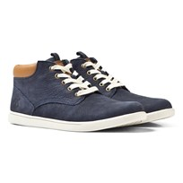 Timberland Navy Groveton Low Ankle Boots Marinblå