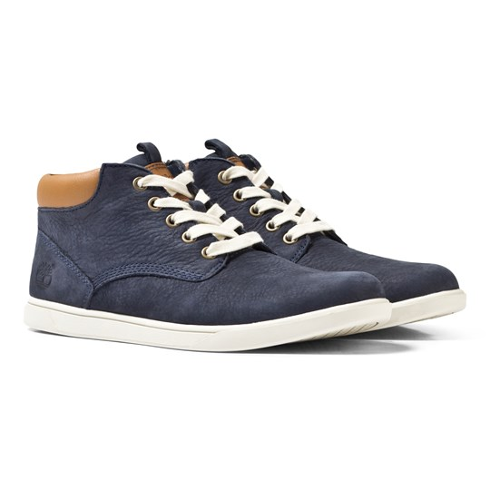 Timberland Navy Groveton Low Ankle Boots Navy