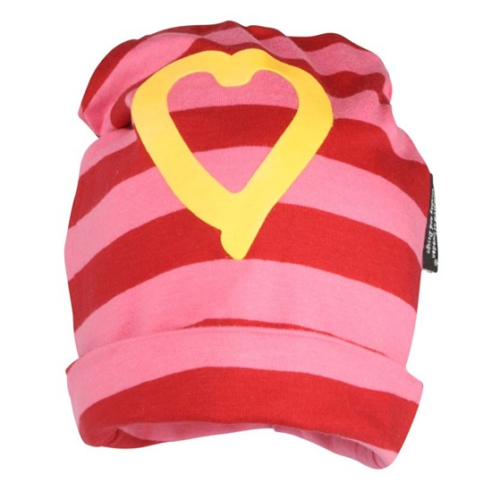 Lundmyr Of Sweden Hat Striped Pink Pink