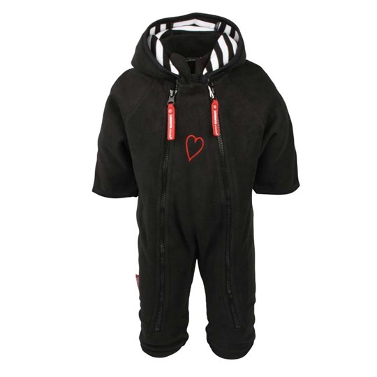 Lundmyr Of Sweden Overall Fleece Black