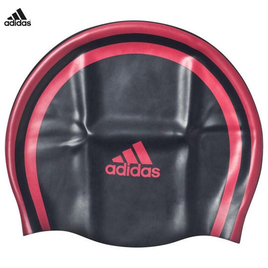 adidas Performance Navy Swimming Cap Navy,Pink