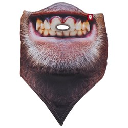 Airhole Ape Facemask Red