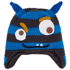 Image of Barts Blue Horned Monster Beanie 50 (18 months- 3 years) (3057109485)