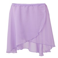 Bloch Lilac Crossover Skirt Purple