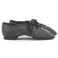 Bloch Soft Split Sole Jazz Shoe Black