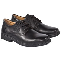 Geox Federico Black Leather Brogue C9999