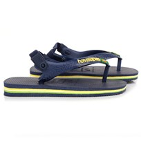 Havaianas Navy Elasticated Flip-Flops Blue