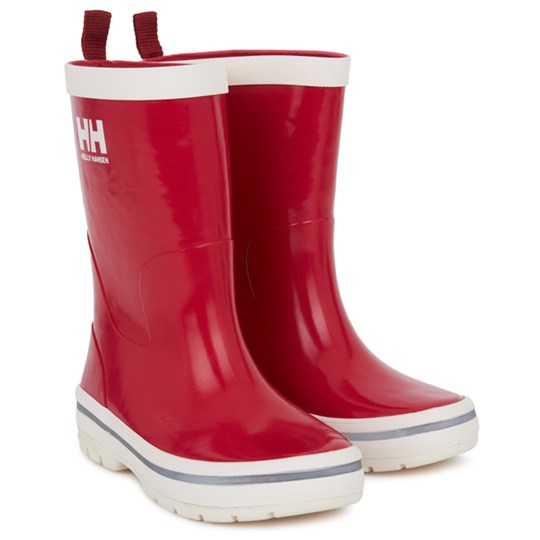 Helly Hansen Red Midsund Wellington Boots Red