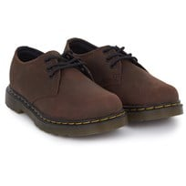 Dr. Martens Brown Distressed Leather Shoes BROWN