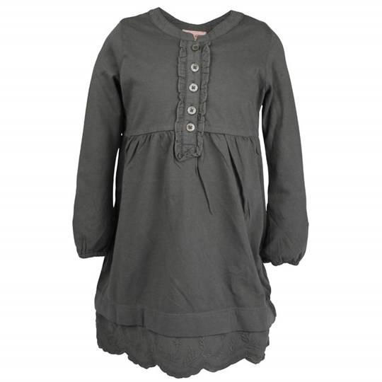 Noa Noa Miniature Dress Long Sleeve Shadow Grey