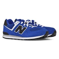 New Balance Blue 574 Laced Trainers