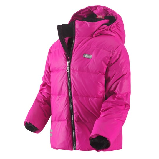 Reima Casual Down Jacket, Wall Pink Pink