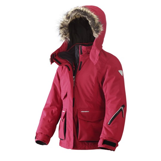 Reima R-tec Jacket, Oulu PCS Red Red