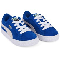 Puma Suede Laced Trainers Blue