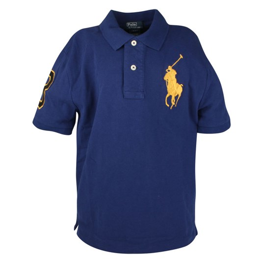 Ralph Lauren SS Big PP Polo Shirt Fall Roya Blue