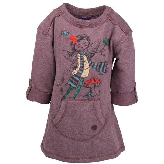 Mexx Kids Girls Dress Purple Purple
